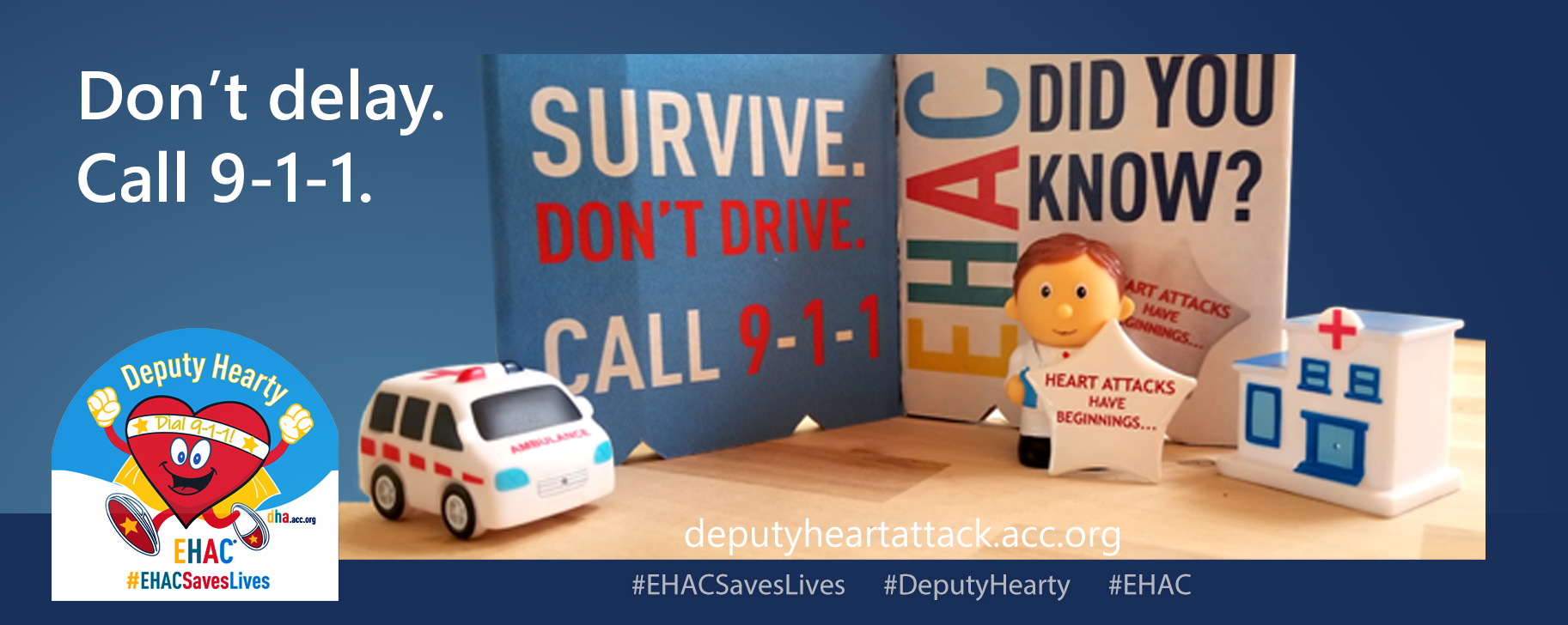 Deputy Hearty says Call 9-1-1